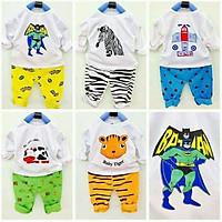 Quần áo trẻ em (combo 5 bộ quần áo sơ sinh quần áo trẻ sơ sinh như hình)