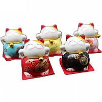 Bộ 5 mèo phong thủy để bàn