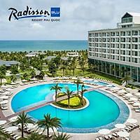Gói 4N3Đ Radisson Blu Resort 5* Phú Quốc - Buffet Sáng, Xe Đón Tiễn Sân Bay, Hồ Bơi, Bãi Biển Riêng, Dành Cho 02 Người Lớn Và 02 Trẻ Em Dưới 12 Tuổi