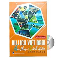 Sách song ngữ Du Lịch Việt Nam – Ẩm Thực & Cảnh Điểm (in màu, giấy ảnh c2) + DVD tài liệu