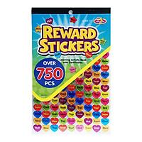 750 Miếng Dán Sticker Lời Khen Thưởng Teacher Praise Reward Stickers