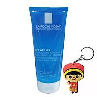 Gel rửa mặt tạo bọt cho da dầu nhạy cảm La Roche-Posay Effaclar Purifying Foaming Gel (200ml, tặng móc khoá)