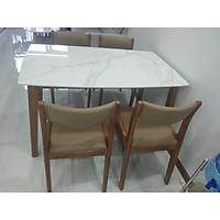 bộ bàn 4 ghế  beola mặt đá
