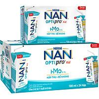 Thùng 24 Hộp Nestlé NAN OPTIPRO Kid Hộp Pha Sẵn ( 24x180ml)