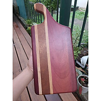 Thớt gỗ xuất khẩu cao cấp ''WAVE'' - Màu Tím Sản phẩm an toàn cho sức khỏe