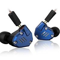 Tai nghe KZ ZS7 - Vỏ kim loại, Bass tốt, dãi âm rộng, độ chi tiết cao có Micro - Hàng chính hãng