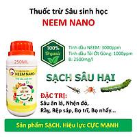 VƯỜN SINH THÁI chăm sóc cây trồng - Thuốc trừ sâu sinh học neem nano - Sạch nhện đỏ, bọ trĩ, rầy rệp - Chiết xuất 100% Thiên Nhiên