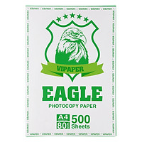 Giấy Photo A4 Eagle GIGO80 DL 80GSM (21 x 29.7 cm)
