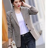 áo blazer nữ kẻ chất vải cao cấp