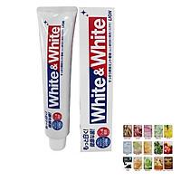 KEM ĐÁNH RĂNG WHITE & WHITE LION NHẬT BẢN ( ĐƯỢC MASK 3W CLINIC )