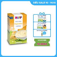 Bột ăn dặm dinh dưỡng Sữa, Ngũ cốc & rau củ tổng hợp HiPP Organic 250g