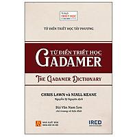 Từ Điển Triết Học Tây Phương - Từ Điển Triết Học Gadamer