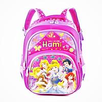 Balo học sinh cấp 1, nhiều hình dễ thương cho bé gái, HAMI b1h2188 - hàng chính hãng, Hàng Việt Nam Chất lượng cao