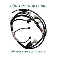 Dây Điện Sườn dành cho xe Exciter 135 Cũ 2006-2010 (Đời 4 Số) DENKI