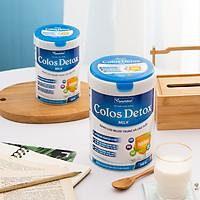 Sữa Colos Detox Milk đầy đủ chất dinh dưỡng, chứa DHA, EPA, Choline bổ sung sắt, canxi, whey protein hỗ trợ người ốm, tăng cường sức đề kháng phục hồi sức khỏe dành cho cả người lớn và trẻ em