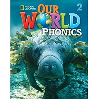 OUR WORLD AME PHONICS 2 STUDENT BOOK & AUDIO CD