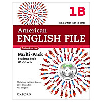 American English File 1B Multi-Pack with Online Practice and iChecker