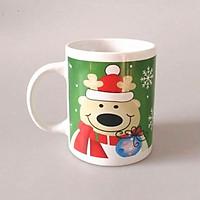Cốc sứ uống trà cà phê cao cấp in hình mùa giáng sinh vui vẻ - Quà tặng Noel