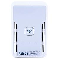 Aztech HL113EW - Bộ Truyền Mạng Qua Đường Dây Điện Tốc Độ 200Mbps Hỗ Trợ Wifi - Hàng Chính Hãng