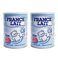 Combo 2 hộp Sữa bột France Lait số 2 (900g)  -  Dinh dưỡng cho trẻ từ 6 -12 tháng tuổi