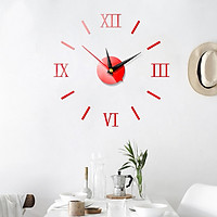 Đồng hồ 3D dán tường sáng tạo cao cấp DH50
