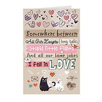 Thiệp tình yêu Greenwood -  khổ to 16x24cm (252)