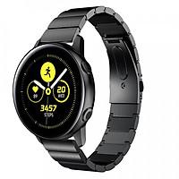 Dây Thép Khối Cho Galaxy Active Watch, Galaxy Watch 42, Gear Sport (Size 20mm) _Hàng NHập Khẩu