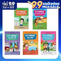 Combo Trọn bộ sách kỹ năng sống cho học sinh tiểu học
