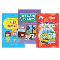 Combo Sách kỹ năng sống cho bé - Tự bảo vệ (Bộ 3 cuốn)