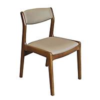 Ghế ăn Bella/Santiano gỗ sồi tự nhiên (2 loại mặt gỗ, mặt nệm cao cấp)