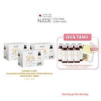 Combo 3 Hộp Collagen nước căng bóng da ngừa lão hóa Nucos Spa 10000 3 Hộp x 50ml x 10 chai