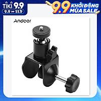 Kẹp cố định hình chữ U với đầu bi xoay cho micrô máy ảnh đèn LED Andoer Super Clamp Mount U-shaped