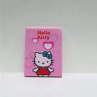 Gương kèm lược chữ nhật Hello Kitty