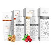 Bộ sản phẩm tắm trắng toàn diện cao cấp Truesky VIP12 gồm 1 kem ủ trắng toàn thân 200ml & 1 kem body 200ml & 1 tẩy tế bào chết 100ml