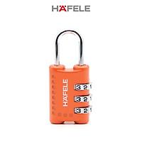 Khóa số Hafele 20301 màu cam - 482.09.005 (Hàng chính hãng)