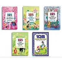 Combo Truyện Kể Cho Bé - 108 Câu Chuyện Nhỏ Đạo Lý Lớn + 108 Truyện Cổ Tích Việt Nam Hay Nhất  + 108 Truyện Đồng Thoại Nhỏ Sáng Tạo Lớn + 108 Truyện Cổ Tích Thế Giới Hay Nhất + 108 Truyện Đồng Thoại Hay Nhất Thế Giới - (Tặng Kèm Bookmark )