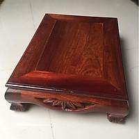 Bàn osin gỗ hương, kích thước ngang 30cm x dọc 40cm x cao 10cm , thích hợp làm bàn trà, hoặc kê các vật dụng