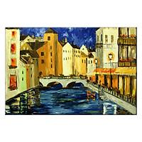 Tranh Canvas Thế Giới Tranh Đẹp Scenery-048