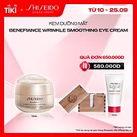 Kem dưỡng mắt Shiseido Benefiance Wrinkle Smoothing Eye Cream 15ml