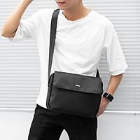 Túi đeo chéo messenger FTDCIPAD- túi đeo công sở cao cấp cho nam nữ có nhiều ngăn đựng ipad mini sổ sách a4 điện thoại, làm từ vải oxford chống nước- BH 12 THÁNG