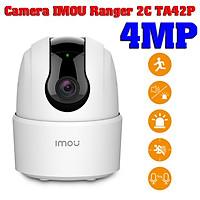 Camera wifi xoay 360 chính hãng IMOU Ranger 2C TA42P 4MP siêu sắc nét , đàm thoại 2 chiều , theo dõi chuyển động , cảnh báo tiếng trẻ khóc - Hàng Chính Hãng