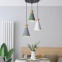 Đèn thả bàn ăn, phòng khách SORAKA 3 bóng cao cấp kèm bóng LED chuyên dụng