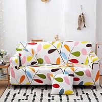 Bộ Bọc cho ghế sofa vải, sofa da bằng chất liệu vải poly co giãn 4 chiều Marytexco MỀM MÁT THÍCH HỢP CHO MÙA HÈ họa tiết sắc nét, thanh lịch, đơn giản nhiều mẫu mã đủ kích thước - Tặng kèm 1 vỏ gối freesize