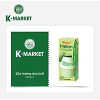 K-Market - Sữa Hương Dưa Lưới (200ml)
