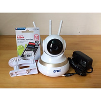 Camera yoosee 3 râu thế hệ mới kèm thẻ nhớ 64GB