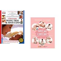 Combo 2 cuốn sách: Cẩm Nang Mang Thai Sinh Con (Bìa Mềm) + Massage Cho Bé