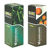Combo Tinh dầu thiên nhiên Sả Chanh và Tinh dầu thiên nhiên Cam - Essenbee (30ml/chai)