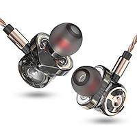 Tai nghe QKZ CK10 - 6 driver âm bass cực mạnh có micro