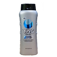 Sữa tắm gội xả Tag 3-in-1 Wash Step Out 532 ml - USA