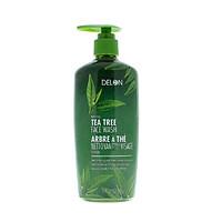 Gel rửa mặt DELON tinh dầu cây tràm trà - DELON Tea Tree Face Wash (325ml)